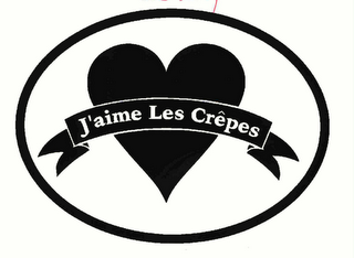 mark for J'AIME LES CREPES, trademark #78273623