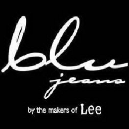 mark for BLU JEANS BY THE MAKERS OF LEE, trademark #78280439