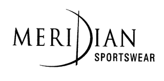 mark for MERIDIAN SPORTSWEAR, trademark #78281460
