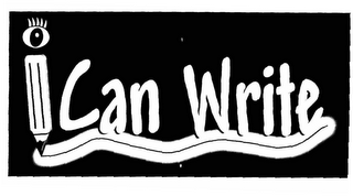 mark for I CAN WRITE, trademark #78283565