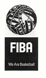 mark for FIBA WE ARE BASKETBALL, trademark #78305489
