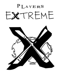 mark for PLAYERS EXTREME, trademark #78306862