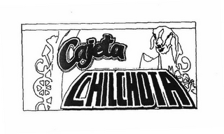 mark for CAJETA CHILCHOTA, trademark #78316512