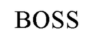 mark for BOSS, trademark #78317476