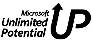 mark for MICROSOFT UNLIMITED POTENTIAL, trademark #78319909