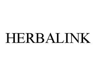 mark for HERBALINK, trademark #78323874