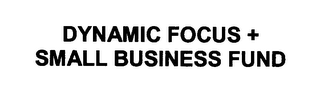 mark for DYNAMIC FOCUS + SMALL BUSINESS FUND, trademark #78324027