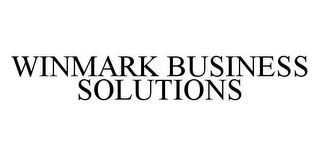 mark for WINMARK BUSINESS SOLUTIONS, trademark #78326272