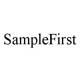 mark for SAMPLEFIRST, trademark #78326414