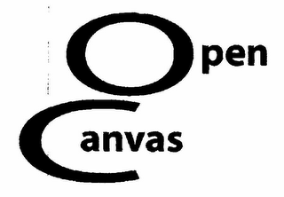 mark for OPEN CANVAS, trademark #78327791
