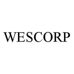 mark for WESCORP, trademark #78328473