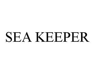 mark for SEA KEEPER, trademark #78330180