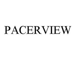 mark for PACERVIEW, trademark #78331058