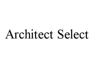 mark for ARCHITECT SELECT, trademark #78331166
