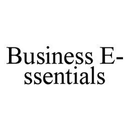 mark for BUSINESS E-SSENTIALS, trademark #78331180