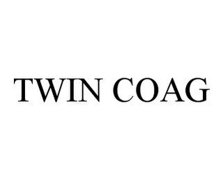 mark for TWIN COAG, trademark #78331328