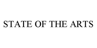 mark for STATE OF THE ARTS, trademark #78333157