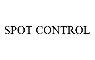 mark for SPOT CONTROL, trademark #78333634
