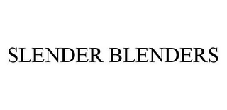 mark for SLENDER BLENDERS, trademark #78333770