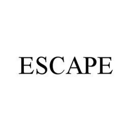 mark for ESCAPE, trademark #78334979