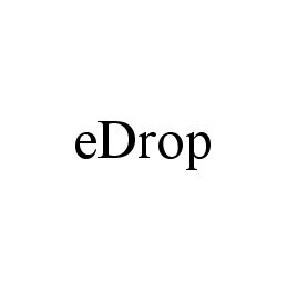 mark for EDROP, trademark #78335054