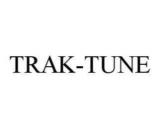 mark for TRAK-TUNE, trademark #78335392
