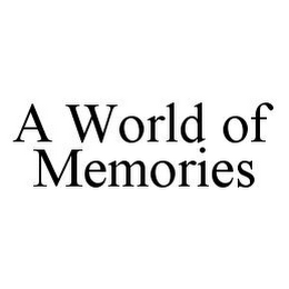 mark for A WORLD OF MEMORIES, trademark #78335481