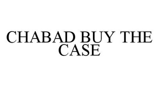 mark for CHABAD BUY THE CASE, trademark #78335799