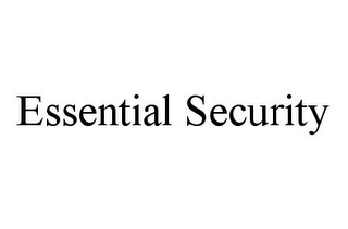 mark for ESSENTIAL SECURITY, trademark #78336016