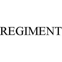 mark for REGIMENT, trademark #78337897