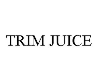 mark for TRIM JUICE, trademark #78338054