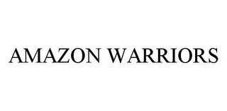 mark for AMAZON WARRIORS, trademark #78338209