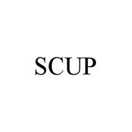 mark for SCUP, trademark #78338443