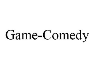 mark for GAME-COMEDY, trademark #78338735