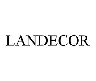 mark for LANDECOR, trademark #78338773