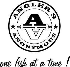mark for AA ANGLER S ANONYMOUS ONE FISH AT A TIME!, trademark #78339768
