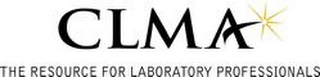mark for CLMA THE RESOURCE FOR LABORATORY PROFESSIONALS, trademark #78339857