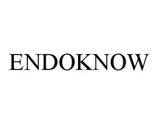 mark for ENDOKNOW, trademark #78343395
