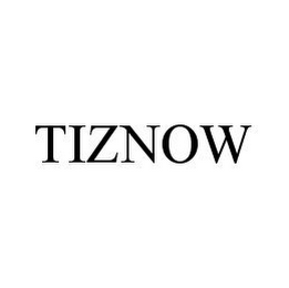 mark for TIZNOW, trademark #78343752