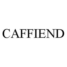 mark for CAFFIEND, trademark #78344726