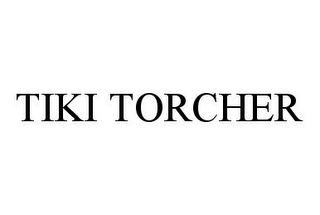 mark for TIKI TORCHER, trademark #78344850