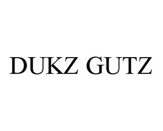 mark for DUKZ GUTZ, trademark #78345206
