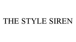 mark for THE STYLE SIREN, trademark #78346504