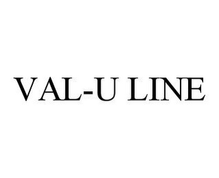 mark for VAL-U LINE, trademark #78347397