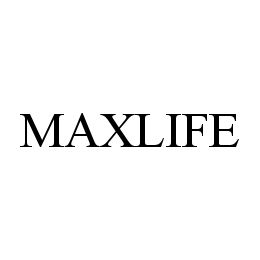 mark for MAXLIFE, trademark #78348196