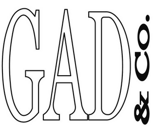 mark for GAD & CO., trademark #78348334