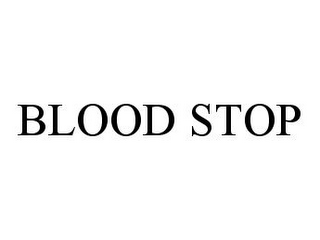 mark for BLOOD STOP, trademark #78348574