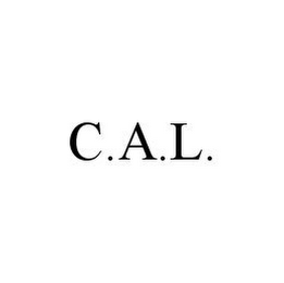 mark for C.A.L., trademark #78349169