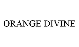 mark for ORANGE DIVINE, trademark #78349952