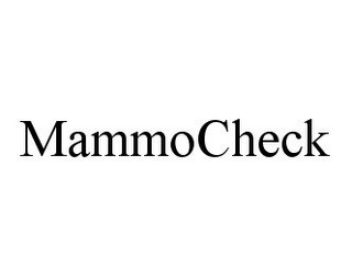 mark for MAMMOCHECK, trademark #78350416